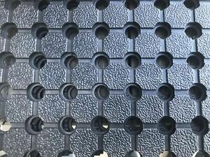 Heavy Duty Perforated Rubber Non Slip Mat For Navara NP300  Liner-Tub (10mm)