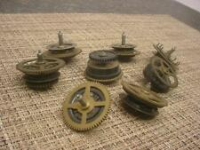 Lot of Vintage German Black Forest Cuckoo Clock Parts Clutch Wheels   E971a