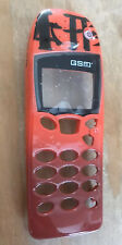 REPLACEMENT FRONT FASCIA HOUSING COVER - NOKIA 5110 5130 5146 - RED DESIGN