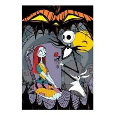 "Disney Nightmare Before Christmas Blanket Twin Full Throw Oversized 62"" X 90"""