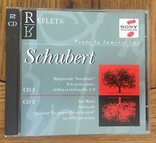 Franz Schubert - Reflets 2CD Sony Masterworks