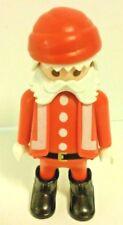 Playmobil Santa Clause Figure Christmas Red Suit 3852 EUC