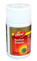 Dabur Ayurvedic Kaishore Guggulu for Skin, Gout etc. - 60 Tablets Pack
