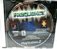 Frequency (Sony PlayStation 2, 2001,PS2) Tested Disc Only