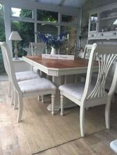 Oak Up to 8 Seats Dining Tables Sets with Additional Leaves