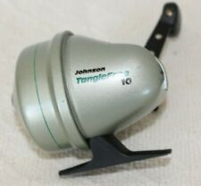 New listing Vintage Johnson Graphite Tangle Free 10 Spincasting Fishing Reel
