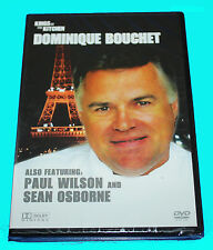 KINGS OF THE KITCHEN -  DOMINIQUE BOUCHET - DVD- NEW & SEALED BOX