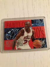 1995-96 Ultra Fabulous 50s #5 Michael Jordan Classic 90s Insert Nice!