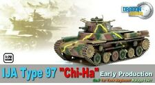 "Dragon 60429 1/72 WWII Japanese Type 97 ""Chi Ha"" Early Production Tank"