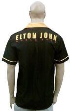 WoW ! BRAVADO Official Merchandise ELTON JOHN World Tour Bowling Hemd Shirt XXL