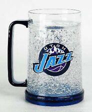 NBA, 16oz Crystal Freezer Mug, Utah Jazz, NEW