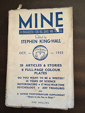 """OCT 1935 """"MINE"""" CHILDRENS SMALL BOOK WITH DUSTJACKET (STEPHEN KING-HALL)"""