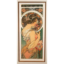"""PRIMROSE"" by ALPHONSE MUCHA, Print Signed and Numbered"