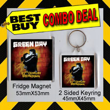 Green Day - 21st CeNturyKEYRING & FRIDGE MAGNET - CD COVER PRODUCT