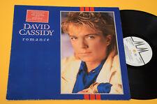 DAVID CASSIDY LP ROMANCE ORIG GERMANY 1985