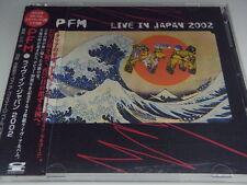 PFM-Live In Japan 2002 Japan 1st.Press Promo w/OBI 2CD Banco Genesis Yes Area
