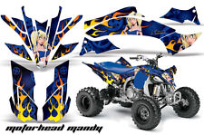 Yamaha YFZ450 Racing Graphics Sticker YFZ 450 Kit Quad ATV Decals Part 09-13 MMB
