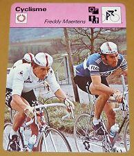 CYCLISME CICLISMO FREDDY MAERTENS VUELTA TOUR FRANCE GIRO PARIS-ROUBAIX