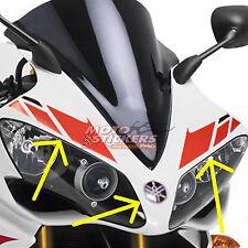 yamaha R1 2007 2008  - kit adesivi cupolino colore rosso nero