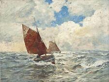 Pintura En paisaje marítimo Dirks fresca brisa impresión arte cartel lf738