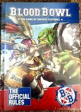 Blood Bowl rules second season Official Rule Book + Sheets sealed