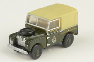 NLAN188008 Oxford Diecast Land Rover Series I 1/148 Model Civil Defence Corps