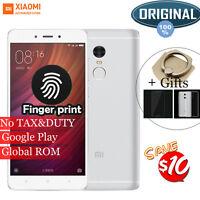 "Original 5.5"" Xiaomi Redmi note 4 Prime MIUI 8 32GB Helio X20 4G Smartphone New"
