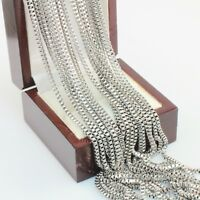 60 cm - Stainless Steel Silver Toned Box Chain For a Pendant