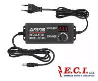 Excellway® 9-24V 3A 72W AC/DC Alimentatore Elettronico Regolabile