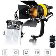 Pro Studio FC500A Alta CRI Bi-color 50W LED Spotlight video continuo Fresnel L