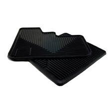 Peterbilt Semi-Trucks 370 Models Plain Black High Ribbed Vinyl Rubber Floor Mats