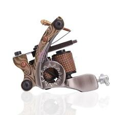 PRO Custom Tattoo Machine Liner Shader Gun Dual 10 Wrap Coils Supply Set USA