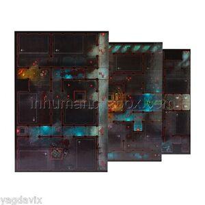 SAS33 ASTROPATHIC SANCTUM BOARD SECTIONS x3 ASSASSINORUM WARHAMMER 40,000 BITZ