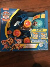 Paw Patrol Adjustable Jr. Skate Combo New - Roller Skates & Knee Pad Set - Kids