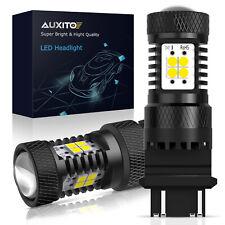 Auxito 3157 3156 Led Reverse Backup Light Bulbs White 6000k Canbus Error Free 2x