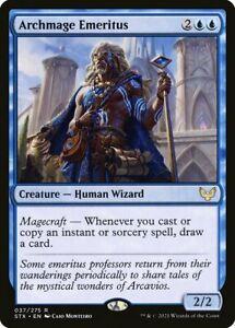 ARCHMAGE EMERITUS - RARE MtG Wizard Card - Magic: the Gathering #037