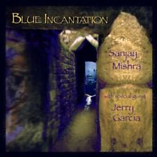 Sanjay Mishra & Jerry Garcia - Blue Incantation Rykodisc CD ORIGINAL JEWEL CASE
