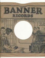78 RPM Company logo sleeves-BANNER Records