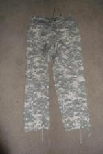 Military ACU Medium Long  Pants Camo Camouflage Cargo  Trousers Men Boys #148