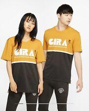 Large NIKE x Gyakusou Top Mineral Yellow Sail CD7111 793) New Nike Lab Run