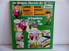 Disque illustré LAUREL ET HARDY / MISTER MAGOO 6002 DESSIN ANIME / BD
