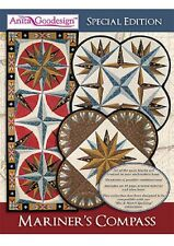 Anita Goodesign Embroidery Machine Design CD MARINER'S COMPASS SPECIAL EDITION
