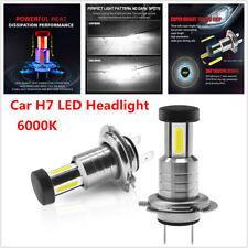 2PCS 110W Car H7 LED Headlight Lamp Bulb 360° Lighting 6000K White Fog Light DRL