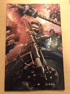 TMNT THE LAST RONIN 3 John GiangEXCLUSIVE VIRGIN VARIANT LTD 450 COPIES NM+