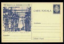 1961 Penicillin Factory,Antibiotics Enterprise IASI,Medicine,Romania,card
