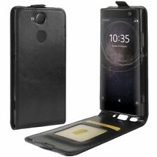 Flip Case Premium Black for Sony Xperia XA2 Protection Sleeve Cover CCSE NEW