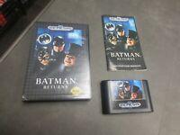 Batman Returns (Sega Genesis, 1992)   Complete in Box - CIB