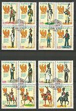 Napoléon Guinée Équatoriale 16 timbres anciens oblitérés /T230