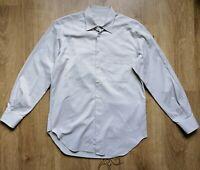 Ermenegildo Zegna Mens Sz 16/ 41 / L Shirt  Long Sleeve Cotton Button Up ,VGC !