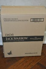 """Hot Toys Sideshow Exclusive DX06 1/6 """"Jack Sparrow"""" Pirates of the Caribbean NIB"""